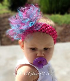 NEW Colorful Poof Bow-Over the top Boutique Hair Bow by OMGthatBOW, $8.00