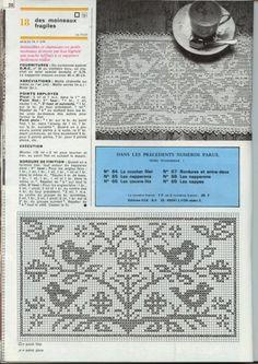 Gallery.ru / Фото #14 - Filet Crochet pour Point de Croix 2 - Mongia