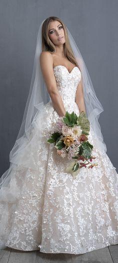 Wedding Dress by Allure Couture #weddingdresses #weddinggowns #bridaldress #bride #bridal #bridalgown #brides #weddings