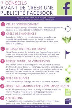 Article + #infographie pour ne pas perdre temps et argent avec les publicités #Facebook !