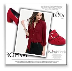 """romwe"" by sejla15 ❤ liked on Polyvore featuring Kershaw"