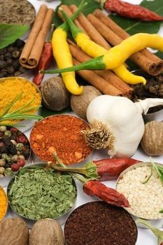 Top 5 Fat-Burning Spices: Losing weight can be a lot easier if you spice up your food. Add these top five fat-burning spices to your diet to ramp up weight loss! Mexican Dishes, Mexican Food Recipes, Healthy Recipes, Healthy Habits, Weight Loss Herbs, Good Food, Yummy Food, Spices And Herbs, Superfood