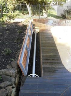 Hide your pool cover under ground, out-of-sight when not in use. The Aussie UnderCover® is the only truly hidden pool cover system that can be tiled! Piscina Diy, Mini Piscina, Diy Pool, Pool Spa, Hidden Pool, Pool Storage, Backyard Pool Landscaping, Landscaping Tips, Pool Equipment