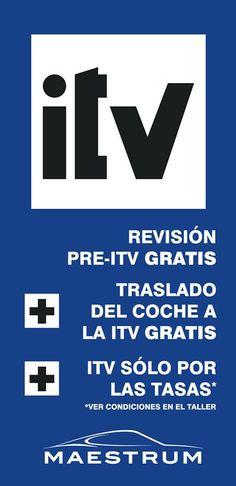 Revisión Pre-ITV GRATIS+ Traslado de coche a la ITV GRATIS + ITV donde sólo pagas las tasas. Talleresmm.com