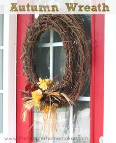 Simple Autumn Wreath!