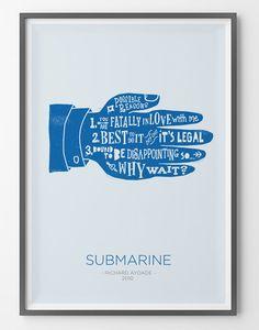 Poster Submarine - R
