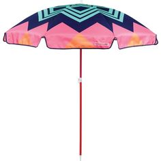 Sunnylife Beach Umbrella ($75) ❤ liked on Polyvore featuring home, outdoors and patio umbrellas
