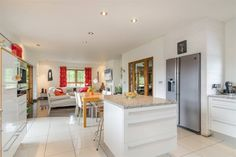 Glen Farm, 27 Glen Road, Dromore #northernireland #propertynewsni #propertynews #kitchen #diningroom #openplanrooms #forsale #buynow #propertynews #propertynewsni Open Plan, Dining Rooms, Property For Sale, Kitchen, Table, Furniture, Home Decor, Baking Center, Cooking