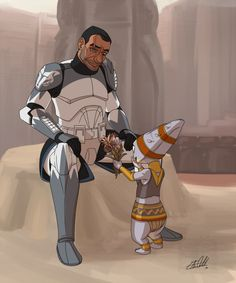 Flowers for Wolffe