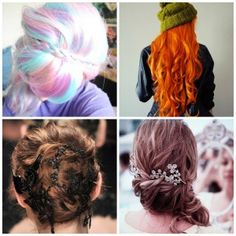 Penteados (Parte V) - Perfeita Dreadlocks, Hair Styles, Beauty, Pith Perfect, Up Dos, Whoville Hair, Hair Plait Styles, Dreads, Hairdos