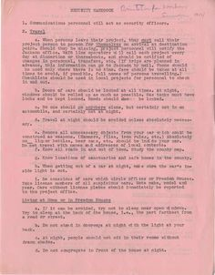 A Serious Security Handbook for Civil Rights Volunteers - Freedom Summer - 1964 - Mississippi USA (?) Can we even imagine seeing your young person get on that bus?  Talk about courage - of the volunteers, and of those being denied their rights in the South.