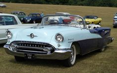 1955 Oldsmobile | 1955-oldsmobile-98-starfire-convertible pics desktop wallpapers photos ...
