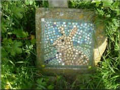 I love this -its not so far away -will walk this summer!  Hare mosaic by the path