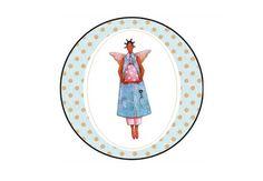 Latinha prateada personalizada. Tema: Tilda.   Compre em: www.boutiquedeencantos.iluria.com