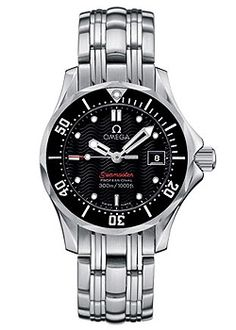 Omega Seamaster Professional Ladies Steel Bracelet Watch | Cheeky Wish List | Wedding and Birthday Gift Ideas for Men and Women