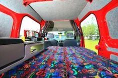 Ford Transit Connect Camper - The Sporty Mini Camper