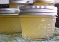 Pineapple Pear Jam  //  4 Cups of pears peeled and cored and mashed to make 3 cups,  10 oz crushed pineapple (1/2 a 20 oz can),  1.5 Tbs lemon juice,  1 pkg fruit pectin,  4.5 cups sugar