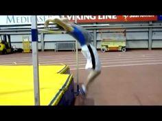 Τρίκαλα - Πανελλήνιο πρωτάθλημα στίβου Π/Κ 2013 - Άλμα εις ύψος Κορασίδων - YouTube
