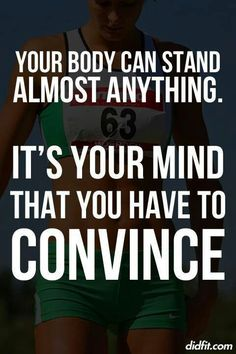 How strong is your mind? #Convince  #mind #notlazy #mentallystrong #physically #Inspiration #Training #Motivation #neverquit #neverstop #neversurrender #nevergivein #nevergiveup #pushthough #bestrong #digdeep. #youwill #unstoppable #youcan #iwill #succeeding #workhard #sweatharder #eatclean #weightloss