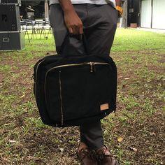 Laptop & work bag #customjeans #handcrafted #handmade #superblack #denim #jeans #selvedge #bag  #unique