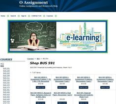 BUS 591, Financial Accounting and Analysis, Week 1 to 6