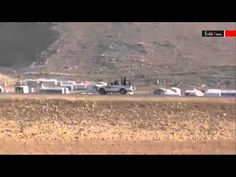 YPG and PKK reinforcements from Rojava arriving in Shingal - YouTube