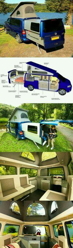 Expandable Van Camper