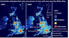 Too Much Night Light Makes Us Fat Crankyand No Safer Mother - Map of light pollution us