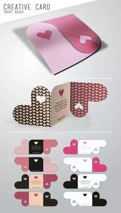 Unique DIY Heart Cards