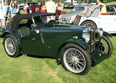 1935 MG PA Roadster. my favourite car ever.