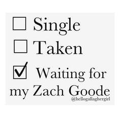 -Gallagher Girls Series- Zach