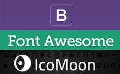Destacamos varios sitios en los que encontrarás fuentes de iconos. Un recurso muy interesante con el que ahorrar tiempo y trabajo: http://www.desarrolloweb.com/articulos/ventajas-iconos-fuentes-tipograficas.html