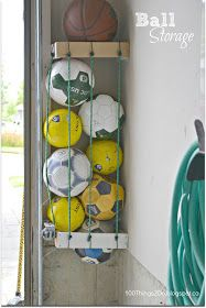 100 Things 2 Do: Organization - Ball Storage