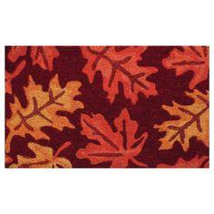 Found it at Wayfair - Fall Leaves Doormat