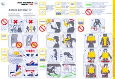 air france concorde safety card london pinterest air Technical Schools Guide Hairdressing Technical Guide