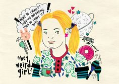 "Pandora, ""Skins""  Illustration by Marta Baroni"
