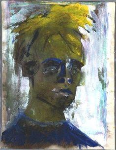 D HEAD vii (7)  Self Portrait / Αυτοπροσωπογραφία