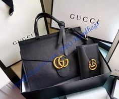 Purchase a Gucci Small GG Marmont Leather Top Handle GU421890-black at bargain price- USD 379. Free Shipping by courier to your address.