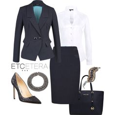 """""""ETCETERA FALL 2013 - Corporate Fashion"""" by etcetera-nyc on Polyvore"""