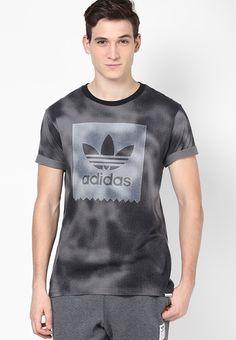 c28c8080 Buy Adidas Grey Skateboarding Round Neck T-Shirt Online - 3060416 - Jabong