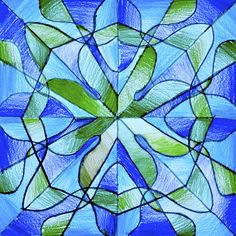 Drawings in radial symmetry