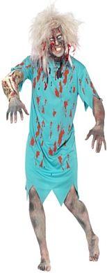 Zombie Patient Halloween Costume http://www.partypacks.co.uk/zombie-patient-costume-pid89110.html