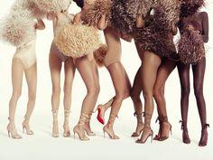 Christian Louboutin Debuts High Heel Sandals for a Range of Skin Tones  - ELLE.com
