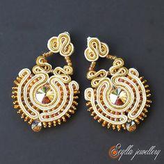 Seylla jewellery #suotache #sutasz #earrings