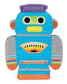 Robot Pinata for $11.97 in Party Accessories - Party Supplies
