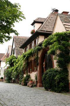 """Edenkoben """"Wein Strasse"""" Germany"""