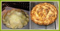 Apple Pie with Cheddar Crust #applepie #cheddarcrust #apples #doublecrust www.heaveninhellcakes.com Cheddar, Apple Pie, Apples, Bread, Cake, Food, Apple Cobbler, Pie, Cheddar Cheese