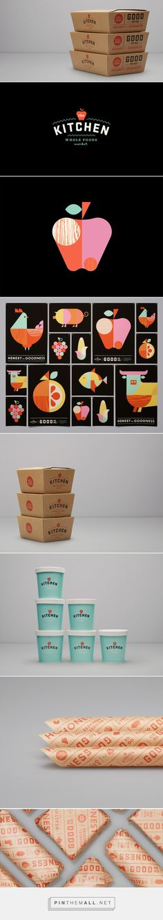 The Kitchen - Whole Foods — The Dieline - Branding & Packaging... - a grouped images picture - Pin Them All