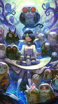 Owl Lover Girl