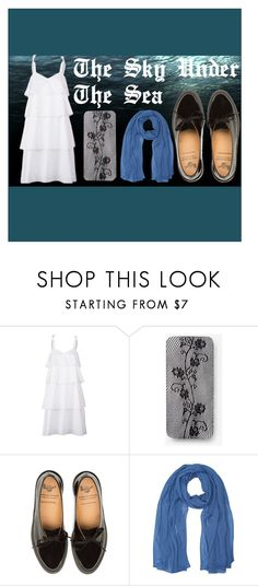 """""""The Sky Under The Sea"""" by casioblade ❤ liked on Polyvore featuring Kaelen, Express and M&Co"""